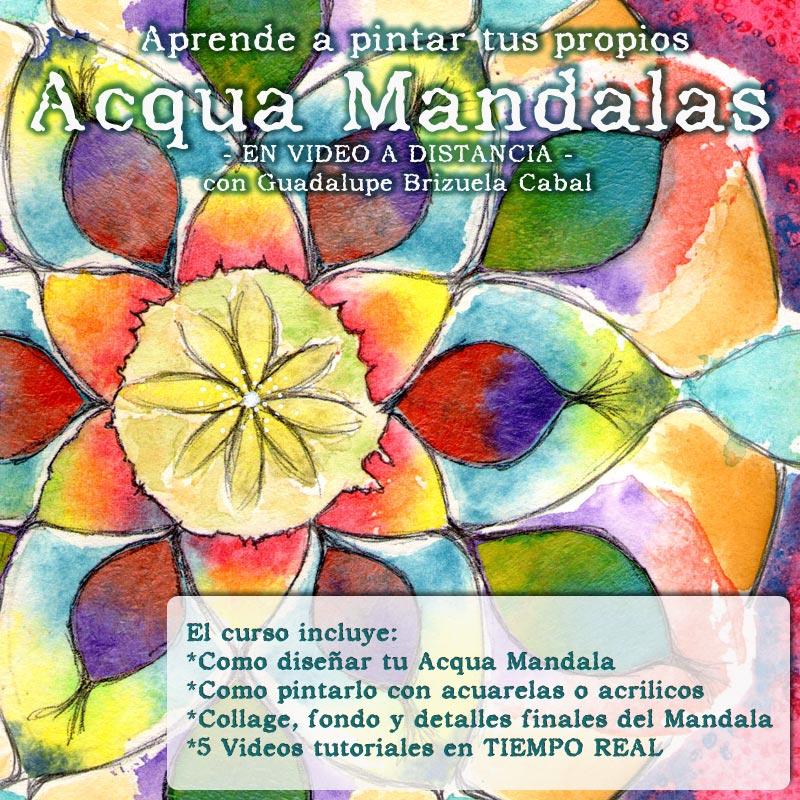 Acqua Mandalas con Guadalupe Brizuela Cabal
